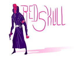 Red Skull by BryanTheEvery