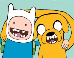 Finn and Jake by ionut16