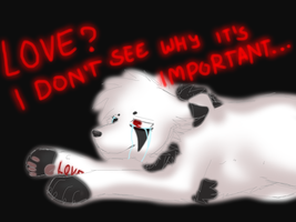 There's No Such Thing as LOVE - Vent... by FreckledArtist