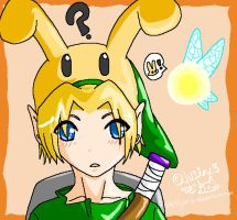 Bunny.Link and Tatl by Juu-B