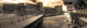 Panorama in Hafencity by stan2400
