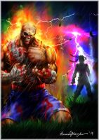 the fall of Sagat. by Grapiqkad