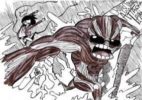 Attack on hamaru by Half-paint