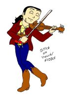 Sitka playin the violin by scoots