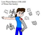 Leon Wayne-Barnes 10th child by Dinzydragon