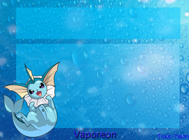 Vaporeon Journal Skin by Toxic-Talon