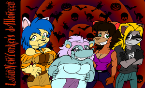 LNY's dAlloween - Latinas by LatinNewYorker