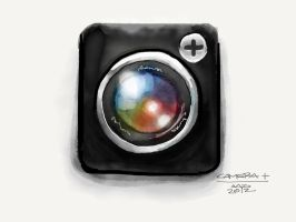 Camera+ App Icon by digitalchet