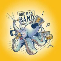 ONE MAN BAND by rhobdesigns