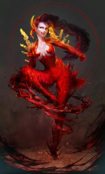 Saya- Blood Current by Sinto-risky
