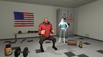 [SFM] American Exercise by ZeFrenchM