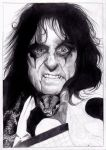 Alice Cooper by Pauwla