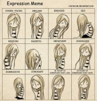 Expression meme by Monecule