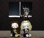 Crafts with Lenore and Tahnee by ScorpionsKissx