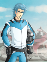 BLEACH -Motorbiker- by shirotenshi-chan