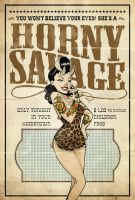 The Horny Savage by paulorocker