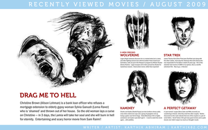 Recently Viewed Movies Aug 09 by karthik82