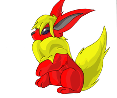 Res Commission: Flareon by Battyniconi