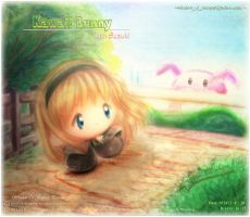 Kawaii Bunny with Suzuki (Contest Result) by Kauthar-Sharbini