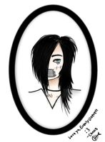 Pressie for EvenlyUneven - Andy Sixx by ChaosBlacke