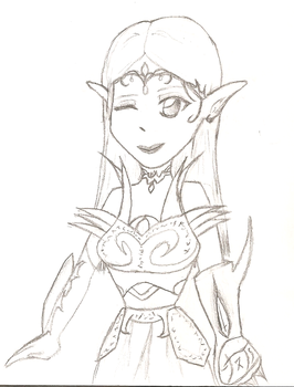 Elf Armor by CuteGoth777