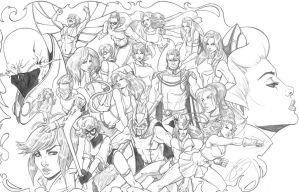 Critter 20 Pencils by JenBroomall