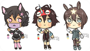 quick adopt set (set price) OPEN [1/3] by remiita