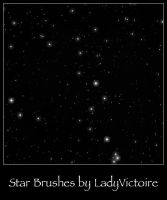 Stars Brushes 1 by LadyVictoire-Brushes