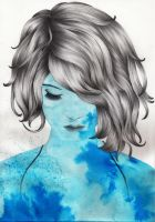 Blue face by EriMed
