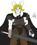 Golden Age Asgore by QuakeBrothers