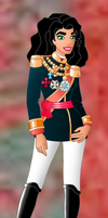 Disney Monarchs: Queen Esmeralda by Willemijn1991