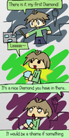 That is a nice diamond you have in there... by Mythical-Human