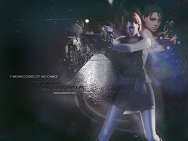 Jill Valentine Wallpaper The Umbrella Chronicles by BriellaLove