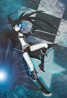 Black Rock Shooter by Estecka
