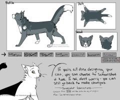 Mistypelt ref sheet thingy by Iucky--Charms