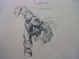 juggernaut. SPIDERMANNN! by amazerbeta