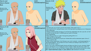 Naruto and Sakura Ramen Base by ShinanaEvangelian1