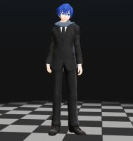 YM Suit Kaito MMD download by Reon046