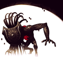 Shadow Beast by volatileT1MES