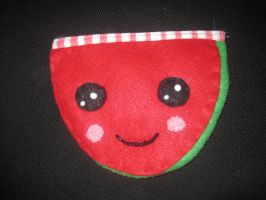 Watermelon pencil pouch by ichigoluv