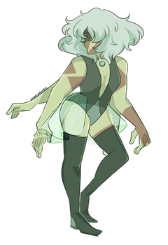 Fusion Friday | Jasper/Blue Pearl | Speedpaint by KitsuneZakuro