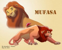 Mufasa design by Catgirl08