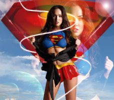 megan fox- super girl by P-Three-sk