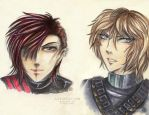 Dragon Gang: Anton and Cain by Khallandra