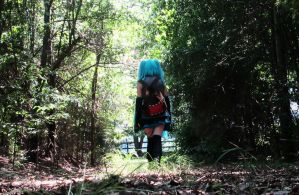 A Walk In The Woods. by MikuMikuJinx