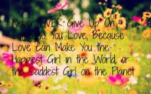 Never Give Up by CassidyLynne1