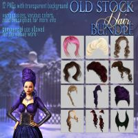 OLD HAIR STOCK bundle by Trisste-stocks