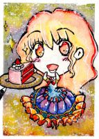 ACEO #5 Sweet Obsession by MANGAdrawingMANIAC
