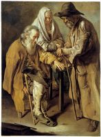 Three beggars-Giacomo Ceruti by prometheus065