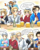 APH: Germanic drinking by Cadaska